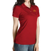 Antigua Women's Iowa State Cyclones Cardinal Inspire Performance Polo