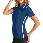 Antigua Women's Buffalo Bills Merit Royal Xtra-Lite Pique Polo