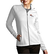 Antigua Women's Denver Broncos Leader Full-Zip White Jacket