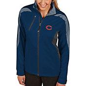 Antigua Women's Chicago Bears Discover Full-Zip Navy Jacket