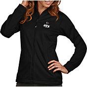 Antigua Women's Super Bowl LI Bound Atlanta Falcons Full-Zip Black Golf Jacket