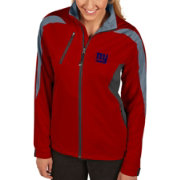 Antigua Women's New York Giants Discover Full-Zip Red Jacket