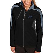Antigua Women's Carolina Panthers Discover Full-Zip Black Jacket