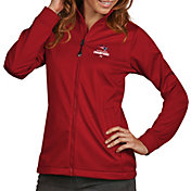 Antigua Women's 5X Super Bowl LI Champions New England Patriots Full-Zip Red Golf Jacket