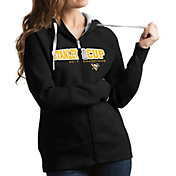 Antigua Women's 2017 NHL Stanley Cup Champions Pittsburgh Penguins Victory Black Full-Zip Hoodie
