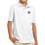 Antigua Youth Creighton Bluejays White Pique Polo