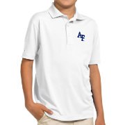 Antigua Youth Air Force Falcons White Pique Polo
