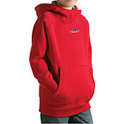 Antigua Youth Gonzaga Bulldogs Red Victory Pullover Hoodie