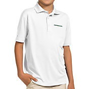 Antigua Youth Oregon Ducks White Pique Polo