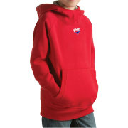 Antigua Youth Southern Methodist Mustangs Red Victory Pullover Hoodie