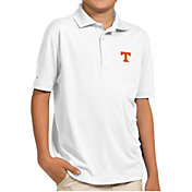 Antigua Youth Tennessee Volunteers White Pique Polo