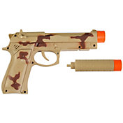 Maxx Action Commando Series 9mm Toy Pistol with Silencer