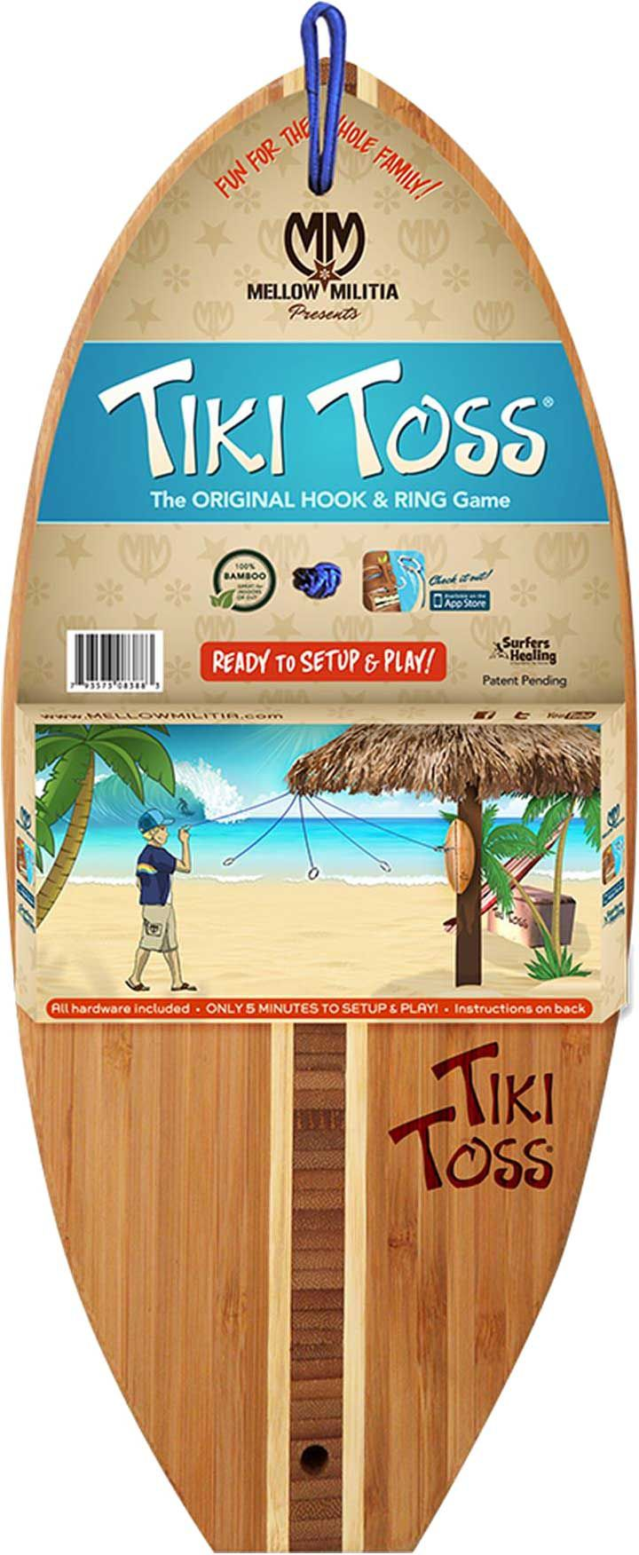 tiki toss surf edition hook and ring game u0027s sporting goods