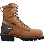 Ariat Men's Powerline 8'' H2O 400g Waterproof Composite Toe Work Boots