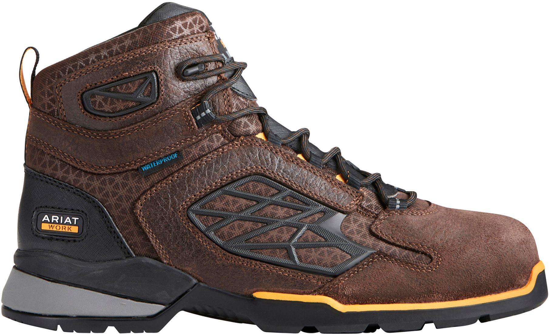 Ariat Rebar Flex 6 Composite Toe (Black) Mens Lace-up Boots