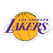 Authentic Street Signs Los Angeles Lakers Steel Logo Sign