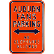 Authentic Street Signs Auburn Tigers Parking Sign