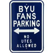 Authentic Street Signs BYU Cougars Parking Sign
