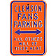 Authentic Street Signs Clemson Tigers Parking Sign