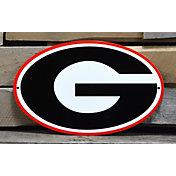Authentic Street Signs Georgia Bulldogs Steel Logo Sign