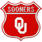 Authentic Street Signs Oklahoma Sooners Route Sign