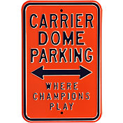 Authentic Street Signs Syracuse Orange Parking Sign