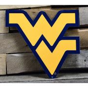 Authentic Street Signs West Virginia Mountaineers Steel Logo Sign