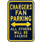 Authentic Street Signs Los Angeles Chargers Parking Sign
