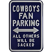 Authentic Street Signs Dallas Cowboys Parking Sign