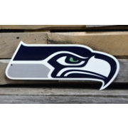 Authentic Street Signs Seattle Seahawks Steel Logo Sign