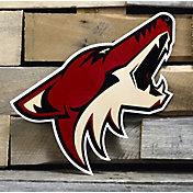 Authentic Street Signs Arizona Coyotes Steel Logo Sign