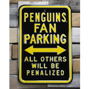 Authentic Street Signs Pittsburgh Penguins Parking Sign
