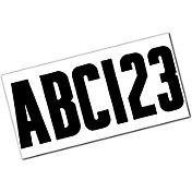 Attwood Boat Registration Letter & Number Kit