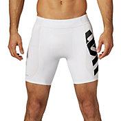 SECOND SKIN Men's QUATROFLX 7'' Compression Shorts