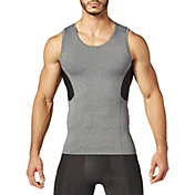 SECOND SKIN Men's QUATROFLX Heather Sleeveless Compression Top