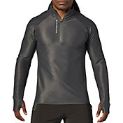 SECOND SKIN Men's 1/4 Zip Long Sleeve Training Top