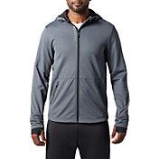 SECOND SKIN Men's Textured Full Zip Training Jacket