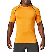 SECOND SKIN Men's Heather Short Sleeve Training Top