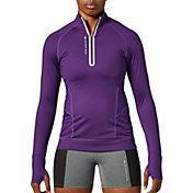 SECOND SKIN Women's QUATROFLX 1/4 Zip Long Sleeve Compression Top