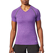 SECOND SKIN Women's Textured Short Sleeve Training Top