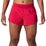 SECOND SKIN Women's Woven Perforated Shorts