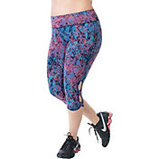 Rainbeau Curves Women's Plus Size Claire Print Capris
