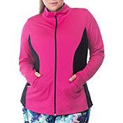 Rainbeau Curves Women's Plus Size Marisa Zip-Up Jacket