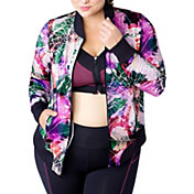 Rainbeau Curves Women's Celeste Plus Size Bomber Jacket