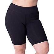 Rainbeau Curves Women's Plus Size Basix Bike Shorts