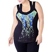 Rainbeau Curves Women's Ada Plus Size Printed Tank Top