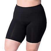 Rainbeau Curves Women's Plus Size Premier Basix Nylon Bike Shorts