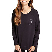 good hYOUman Women's Smith Graphic Crewneck Sweatshirt