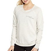 good hYOUman Women's Do What You Love Graphic Smith Crewneck Sweatshirt