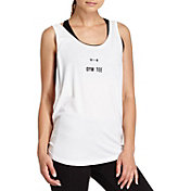 good hYOUman Women's Tracy Graphic Scoop Neck Tank Top